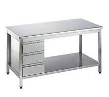 3f98a2ead Tatria Plus: Nerezový nábytok a šalátobary – nerezové pracovné stoly ...